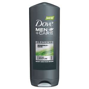 Dove men+care shower gel 250ml 70p @ Superdrug instore