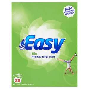 Easy Bio Laundry Powder 26 Washes £1.00 (Sale Instore) @ Iceland (Exeter Sidwell Street EX4 6NN)
