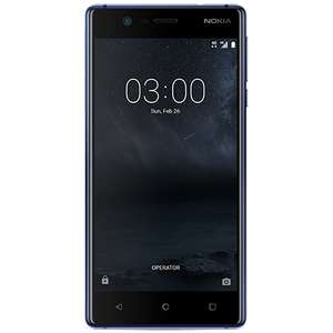 Nokia 3 PAYG locked to o2, £75 online and instore at o2