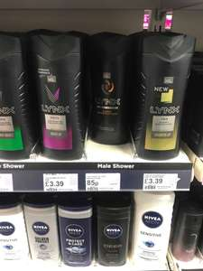 Lynx Dark Temptation XL Shower Gel 85p @ Superdrug