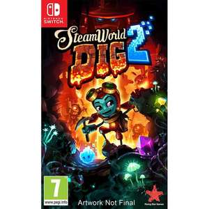 Steamworld Dig 2 (Nintendo Switch) preorder £23.95 @ coolshop (incl delivery)