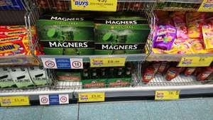 Magners pear 8 pck £6.99 @ homebargains ( prenton / wirral) - £6.99