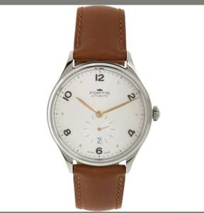 Fortis Tan Leather Hedonist Watch £499.99 @ TK Maxx