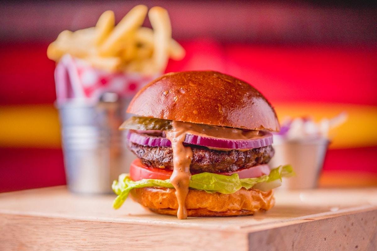 Free burger at Maxwells in London Friday 20th April