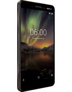 Nokia 6 2018 with Free Google Home Mini £229 @ Carphone Warehouse