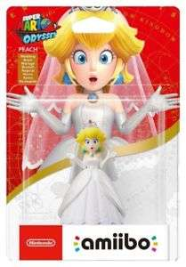 Peach Wedding Outfit amiibo Delivered £7.99 @Argos Ebay Outlet