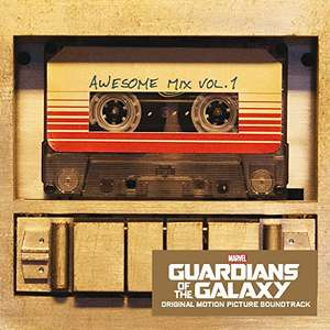 [CD] Guardians of the Galaxy: Awesome Mix Vol. 1 (Plus Free MP3 version) - £3.00 (Prime) / £4.99 (Non Prime) - Amazon