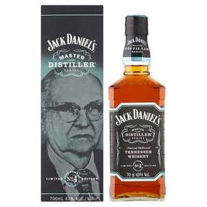 Jack Daniel's Master Distiller Series No.4 70Cl £20 @ Tesco