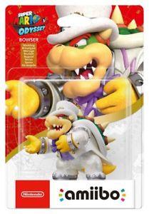 Nintendo Amiibo - Super Mario (Bowser Wedding Outfit) Figure £9.99 - Argos Ebay