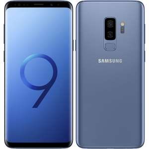 Samsung Galaxy S9 Plus G965FD Dual Sim 4G 64GB - Coral Blue - (£577.99) with code @ eGlobal Central