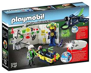 Playmobil: Top Agents - Agent Labatory with Jet amazon add on item minimum 20 pound spend applies £5