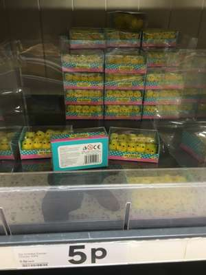 Easter Chicks going cheap - in store Tesco York Askham Bar 5p