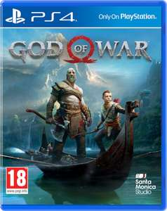 God of war PS4 £49.99 @ Zavvi (£34.99 via Quidco)