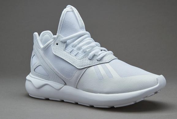 adidas originali donne tubulare runner formatori white