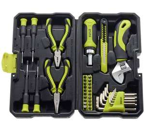 Guild 40 Piece Stubby Hand Tool Kit now £11.29 @ Argos w/ 2 year guarantee