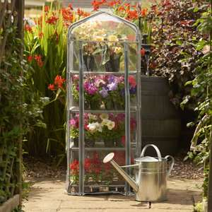 Mini Greenhouse now £10 /  Walk in Greenhouse Cover and Stage Now £30 @ Wilko