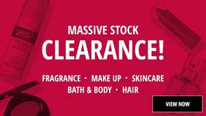 Massive stock clearance at Fragrance Direct