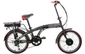 Coyote Electric folding bike for £405 at Halfords using code EXTRA10BIKES (was £500).  Surprisingly good reviews and high street store backup if needed.