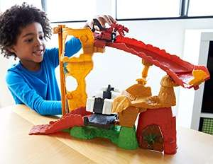 """Mattel DinoTrux """"RUX Rock Block Attack"""" (£14.86 prime / £19.61 non prime) and Other Play Sets @ Amazon"""