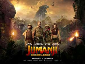 Jumanji : welcome to the jungle 4k or uhd movie for £13.99 @ Google play