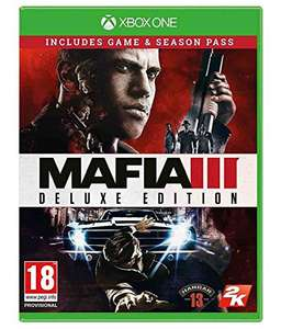 Mafia III Deluxe Edition (Xbox One) 4K and HDR on Xbox One X £12.99 (Prime) / £14.98 (non Prime)  Sold by Go2Games and Fulfilled by Amazon.