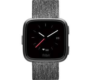 Fitbit Versa Special Edition - Charcoal (£188 @ Currys Online)