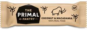 Short dated Coconut & Macadamia / Apple and Pecan Primal Pantry bars (18 x 45g) Free del. £9 at primalpantry