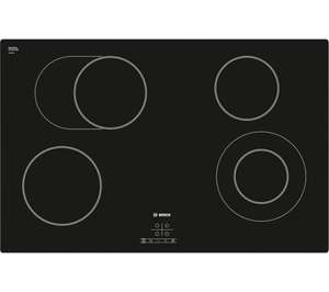 BOSCH Serie 4 Classixx PKN811D17E Electric Ceramic Hob - Black for £320 delivered @ Currys