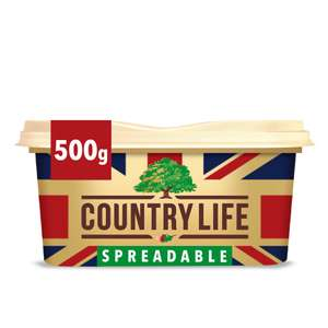 Country Life British Spreadable 500g for £2 @ Iceland