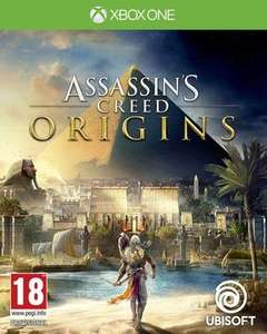 Assassin's creed origins (used - xbox one) £16.49 @ Music magpie