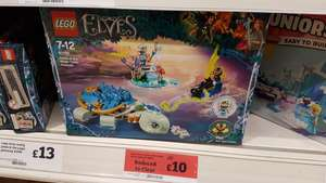 Lego elves naida & the water turtle ambush 41191 - £10 @ sainsburys instore