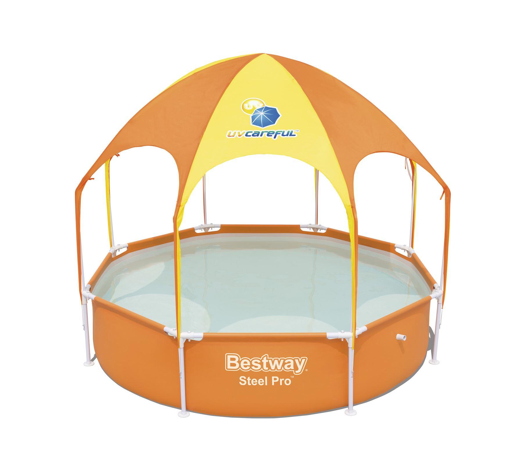 Bestway 8ft Splash & Shade Play Pool (was £89.99) Now £59.99 C&C at Very