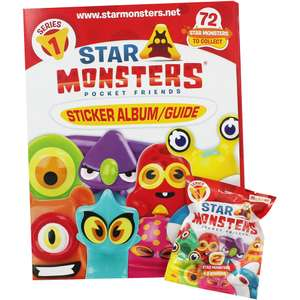 Star Monsters Starter Pack 50p (RRP £4.99) @ The Works - Free C+C