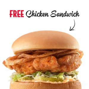 Free Chicken Burger @ Slim Chickens Bond Street, London (purchase of side & drink required)