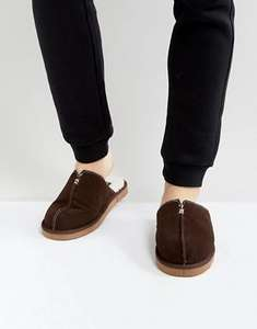 Dunlop suede slippers £8.50 + suede Moccasins £9 @ asos (+ postage or free over £20 with free returns)