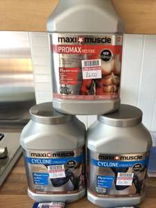 Maximuscle protein shakes £4.33 boots bexleyheath