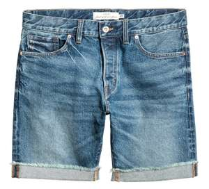 Denim Shorts for £5.99 delivered using H&M Rewards @ H&M