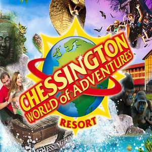 Chessington World of Adventures Resort - Two days in park - On-site hotel +  Breakfast + Early Ride Access from £39.75pp (Based on a Family of 4)
