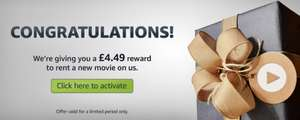 Amazon Video £4.49 credit