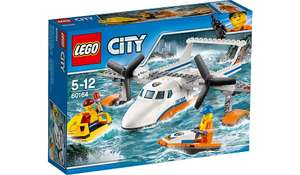 LEGO City - Sea Rescue Plane - 60164  £8.97 Asda and Amazon