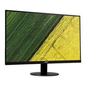 "Acer SA270 27"" Full HD ZeroFrame IPS Monitor - Free delivery £129.98 @ SCAN.co.uk"