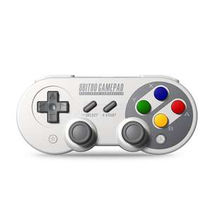 8Bitdo SF30 Pro Retro/SNES Style Bluetooth Controller for Windows, MacOS, Android and Switch - £24.49 @ Zapals