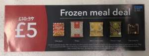 Co-op Frozen Meal Deal £5 starts Wednesday 18th of April - £5