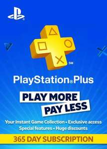 PlayStation Plus PSN - 365 days subscription £38.74 @ Press Start