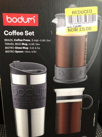 Bodum Coffee Set @ Tesco INSTORE £5