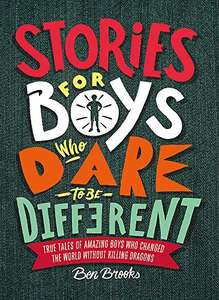 Stories for Boys Who Dare to be Different Hard back now £7.99 (Prime) £10.98 (Non Prime) @ Amazon