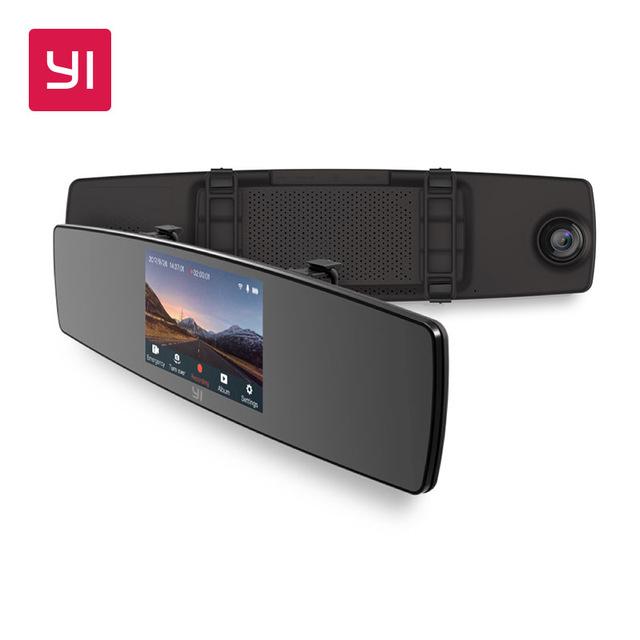 YI Mirror Dash Cam Dual Dashboard Camera , £49.53 @ AliExpress / Yi Official Store