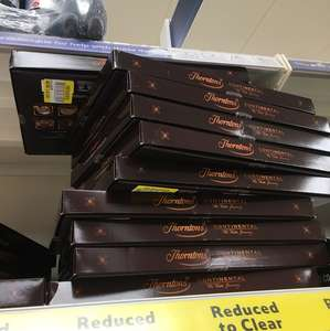 Thorntons Dark Continental Milk White Chocolates 284G £4.50 @ Tesco