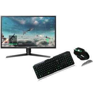 "LG 27GK750F-B 27"" FreeSync 1ms HDMI 240Hz Gaming Monitor With FREE Gaming Keyboard & Mouse - £379.97 @ Laptops Direct"