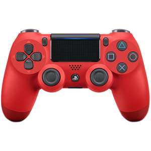 PS4 DualShock 4 Wireless Controller v2 Red £37 @ AO